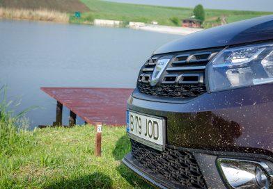 Masina pentru pescuit -drive test Dacia Logan