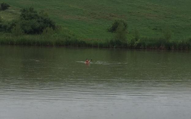 o partida de pescuit la feeder pe lacul Măgura 9
