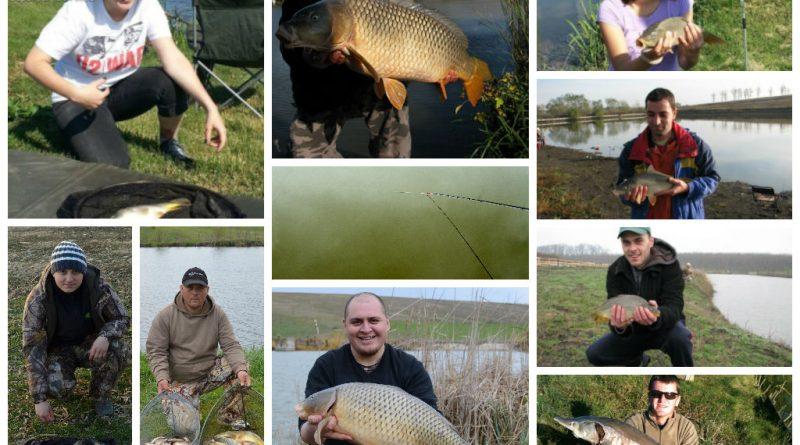 pescuit la feeder cu prieteni