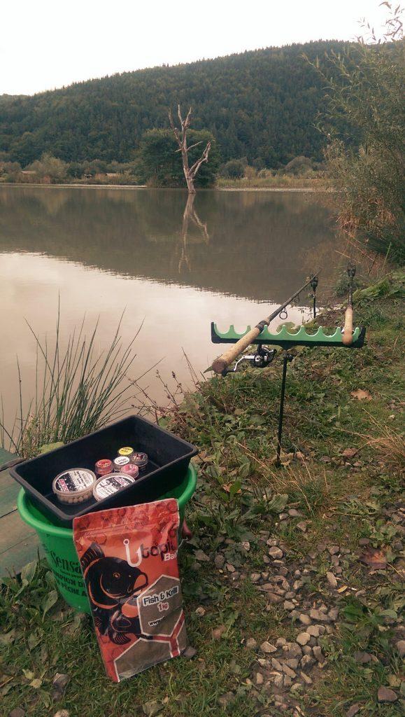 pescuit la feeder pe Valea Morii